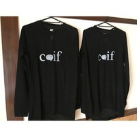【Coif 】× 【Be】 = Hybrid  base layer.  BLACK   Mサイズ