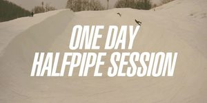 ONE DAY HALF PIPE SESSION at Ban.K 公開!!
